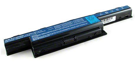 Baterie do notebooku, pro Acer TravelMate 5760 6600mAh Extra Capacity