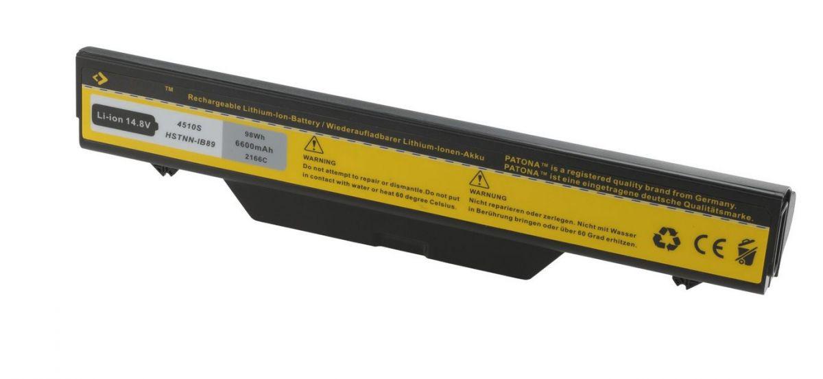 Baterie notebooku HP ProBook 4720s 6600mAh 14,4V / 14,8V Extra Capacity