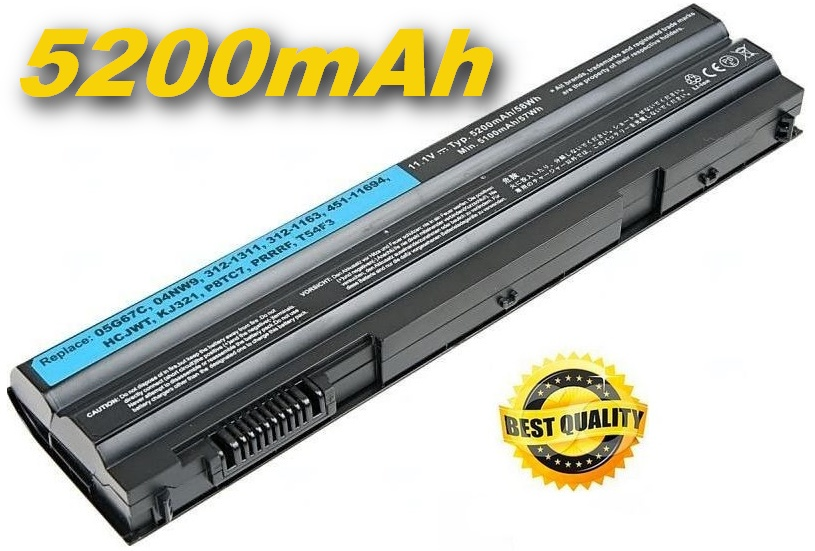 Baterie do notebooku, pro řadu Dell Inspiron 17R (7720) 5200mAh Li-Ion Best Quality