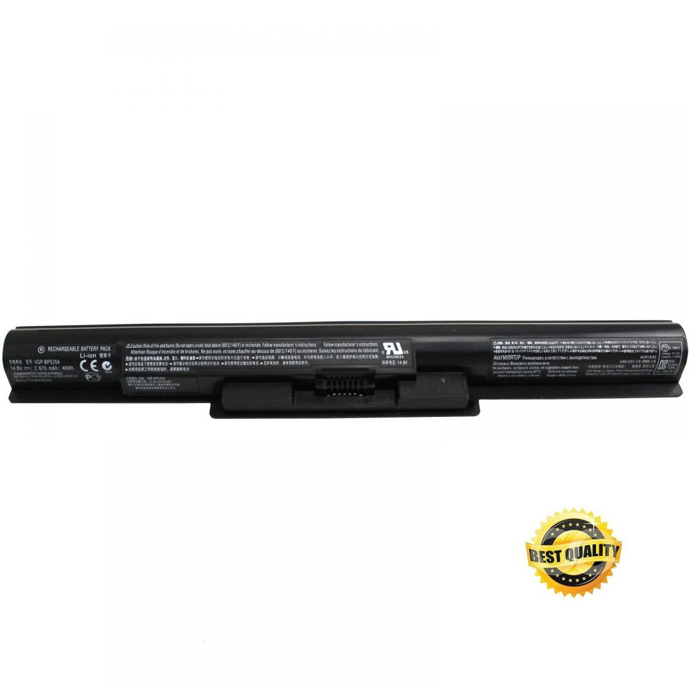 Baterie do notebooku, pro řadu Sony Vaio Fit SVF15 2200mAh Li-Pol 14,8V Best Quality