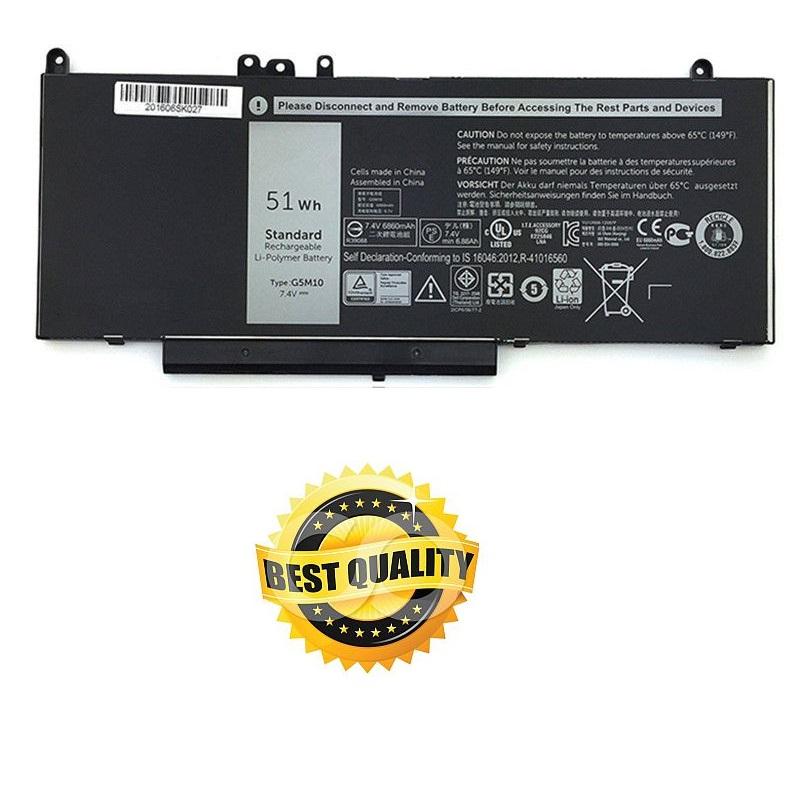 Baterie do notebooku, pro řadu Dell Latitude E5550 7000mAh Li-Pol 7,4V Best Quality