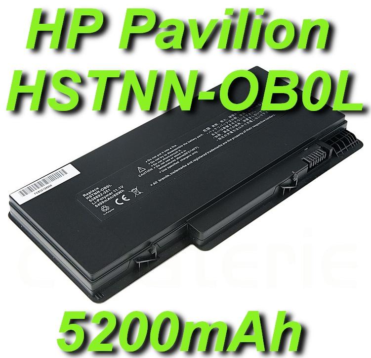 Baterie HP Pavilion dm3z 5200mAh Li-Pol 11,1V nahrazuje ORIGINÁL