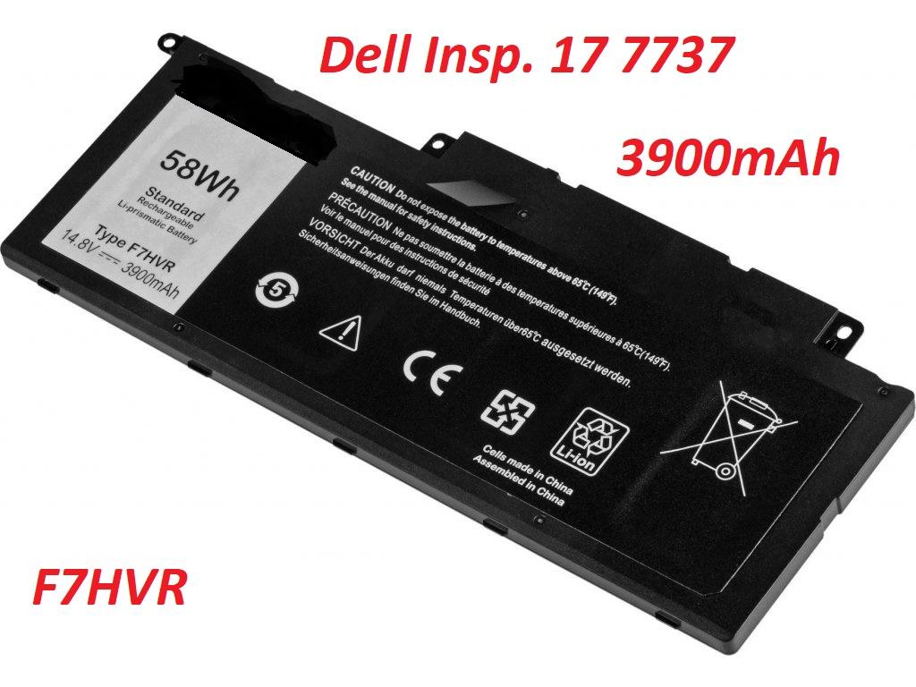 Baterie Dell Inspiron 17 7737 3900mAh 14,8V Li-pol nahrazuje ORIGINÁL