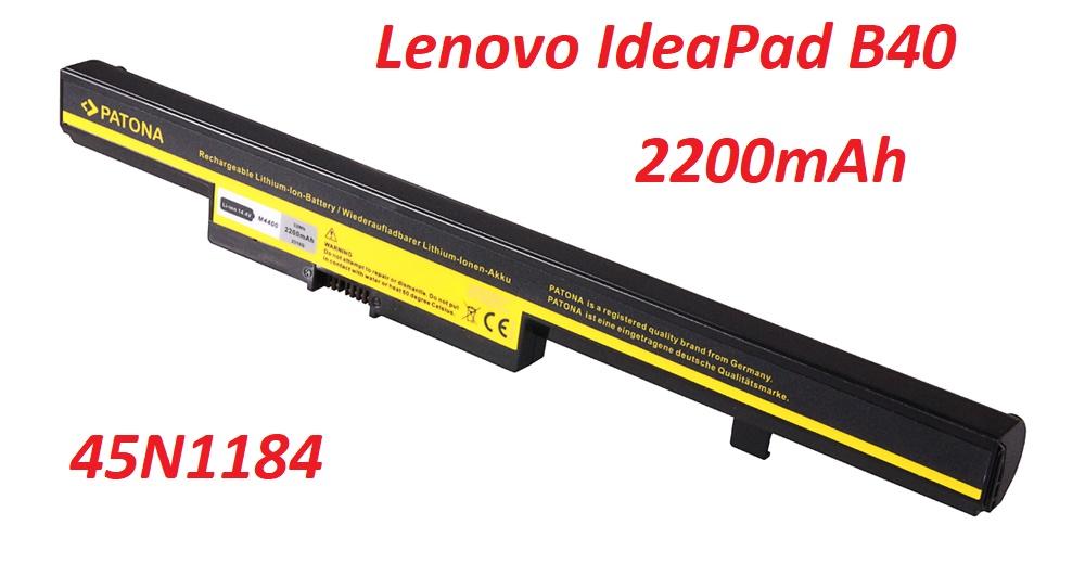 L13M4A01 baterie do notebooku pro Lenovo IdeaPad 2200mAh Li-Ion 14,4V nahrazuje ORIGINÁL