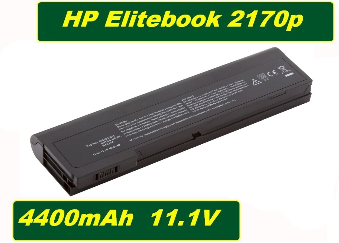 Baterie do notebooku HP EliteBook 2170p 4400mAh Li-Ion 11,1V Best Quality