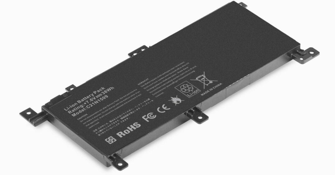C21N1509 baterie do notebooku série Asus X556 5000mAh nahrazuje ORIGINÁL