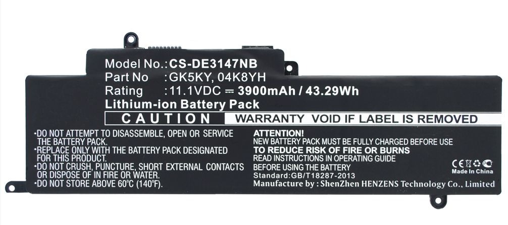 Baterie Dell Inspiron 11 3147 3900mAh Best Quality