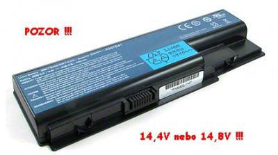 Baterie do notebooku Acer, pro Aspire 5230 4400mAh 14,4V, 14,8V TOP Quality