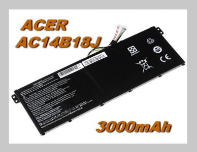 Baterie do notebooku Acer Spin 3 SP314-51 3000mAh Li-Pol 11,4V Best Quality